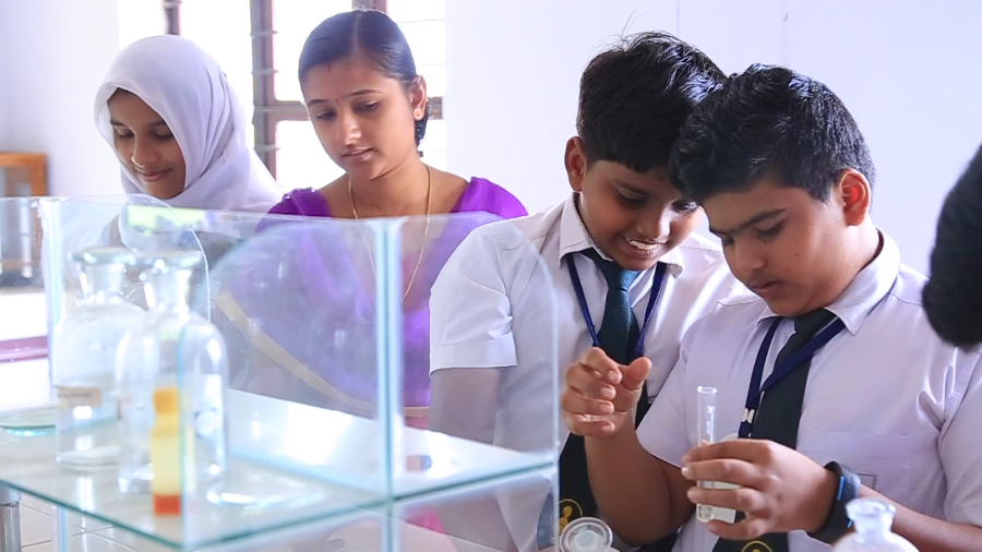 Delhi International School Chemistry Lab