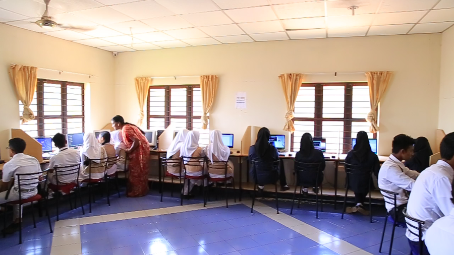 Delhi International School Computer Lab