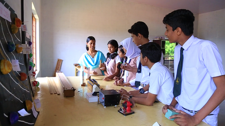 Delhi International School Physics Lab